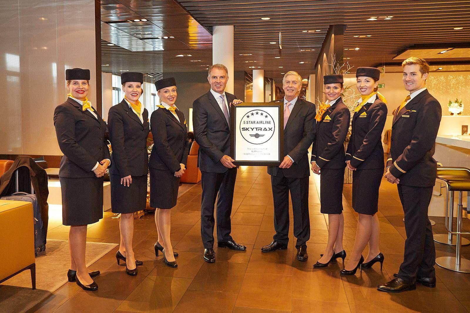 Lufthansa conquista prêmio inédito e se torna a primeira cia aérea 5 estrelas da Europa