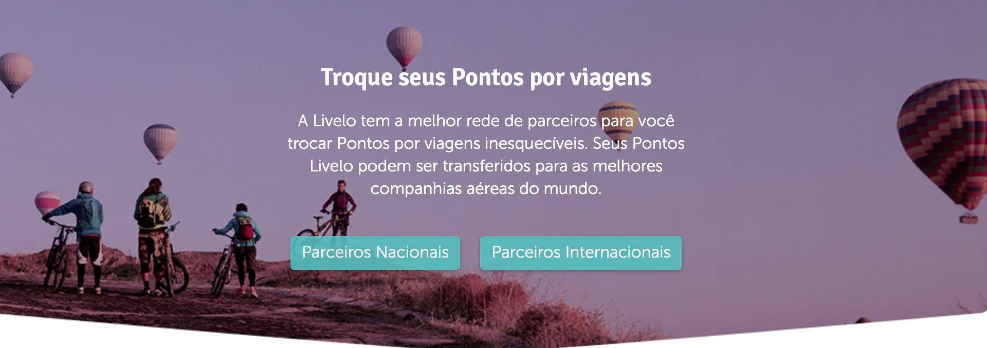 Pontos comprados diretos pela Livelo não serão elegíveis para transferências para os novos parceiros aéreos