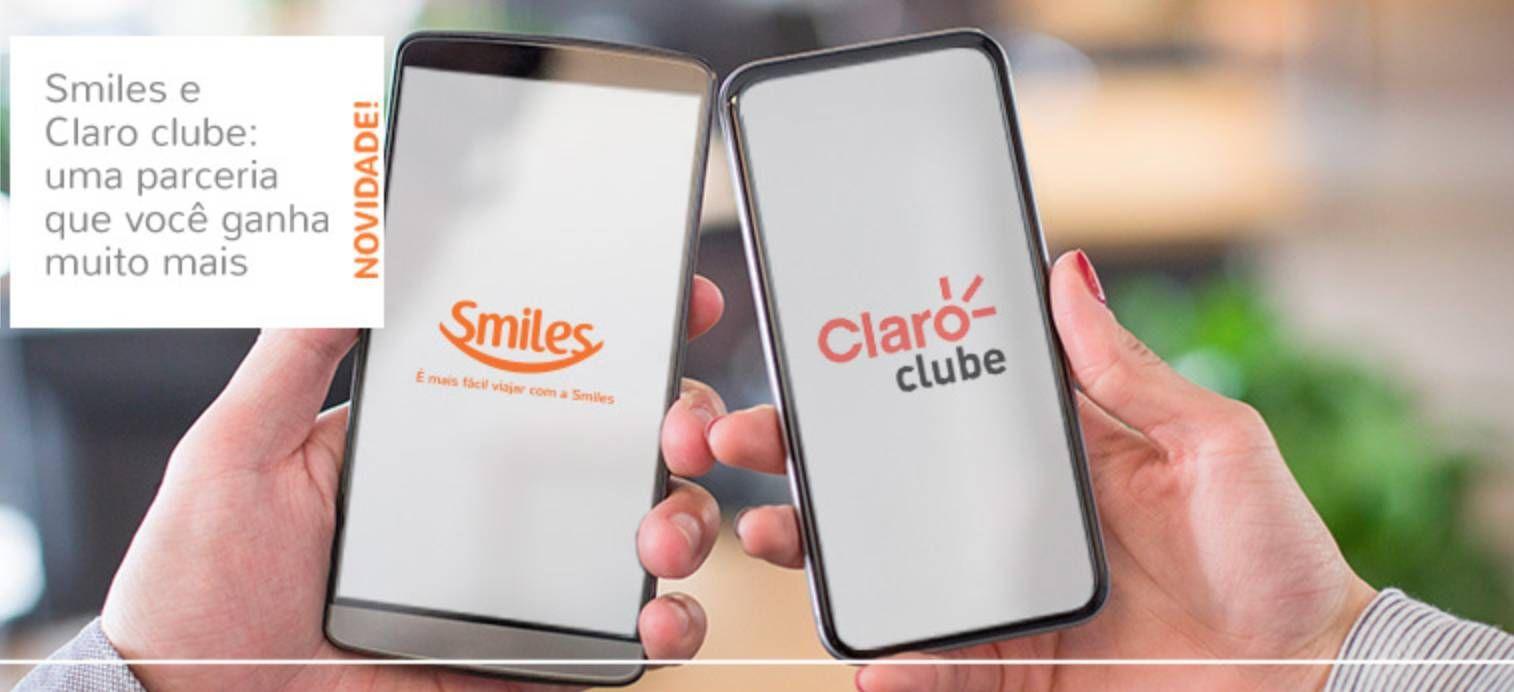 Smiles e Claro fazem parceria para troca de pontos e milhas