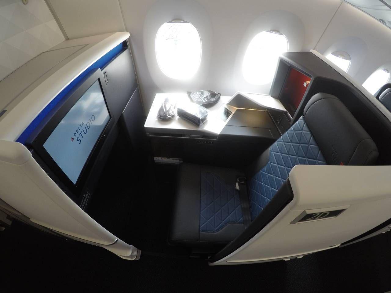 Classe Executiva da Delta no A350 – Seoul para Detroit