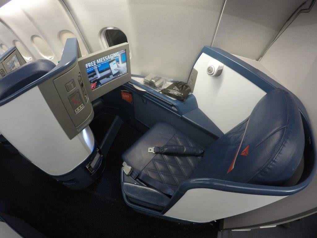 Classe Executiva da Delta no A330 – Nova York para São Paulo