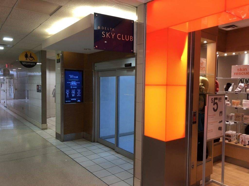 Sala VIP Delta Skyclub – Aeroporto de Philadelphia (PHL)