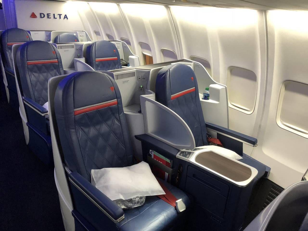 Classe Executiva da Delta no B757 – Philadelphia para Nova York