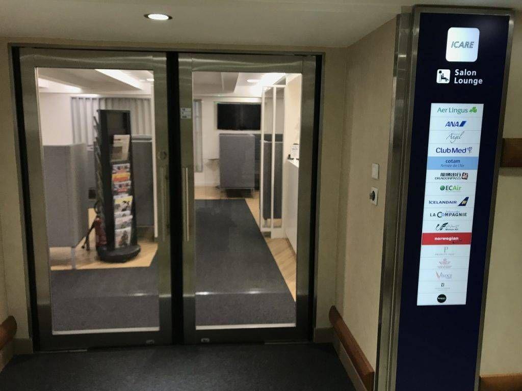Sala VIP Icare Lounge – Aeroporto de Paris (CDG)