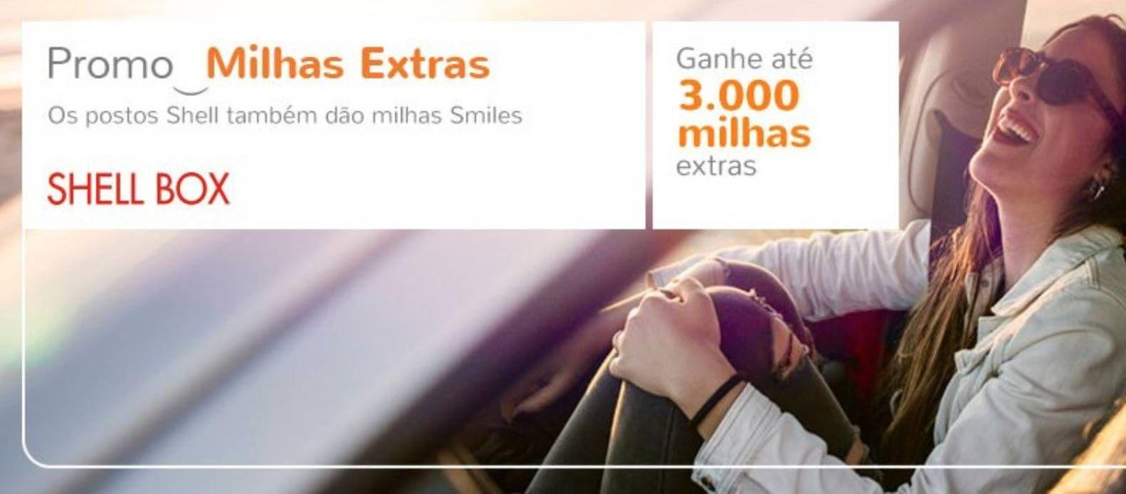 Smiles está dando milhas extras para quem abastecer nos postos Shell