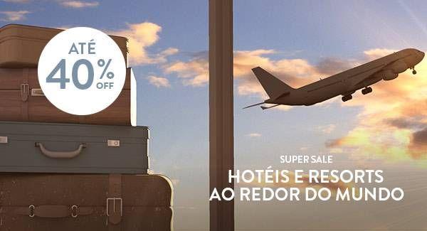 Meliá lança promoção Super Sale com até 40% OFF em hotéis e resorts ao redor do Mundo