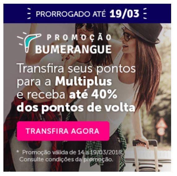 Promoção Livelo Bumerangue foi PRORROGADA!