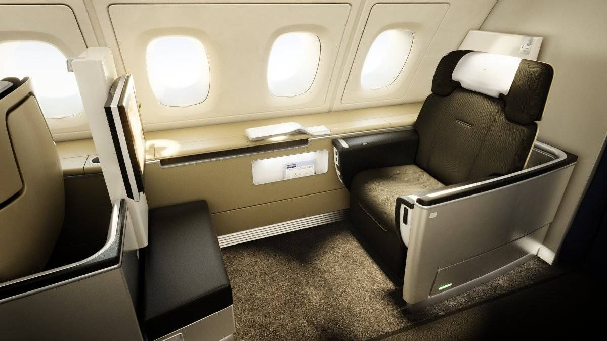 MILAGRE! Emita passagem na primeira classe da Lufthansa saindo do Brasil fora dos 14 dias de antecedência