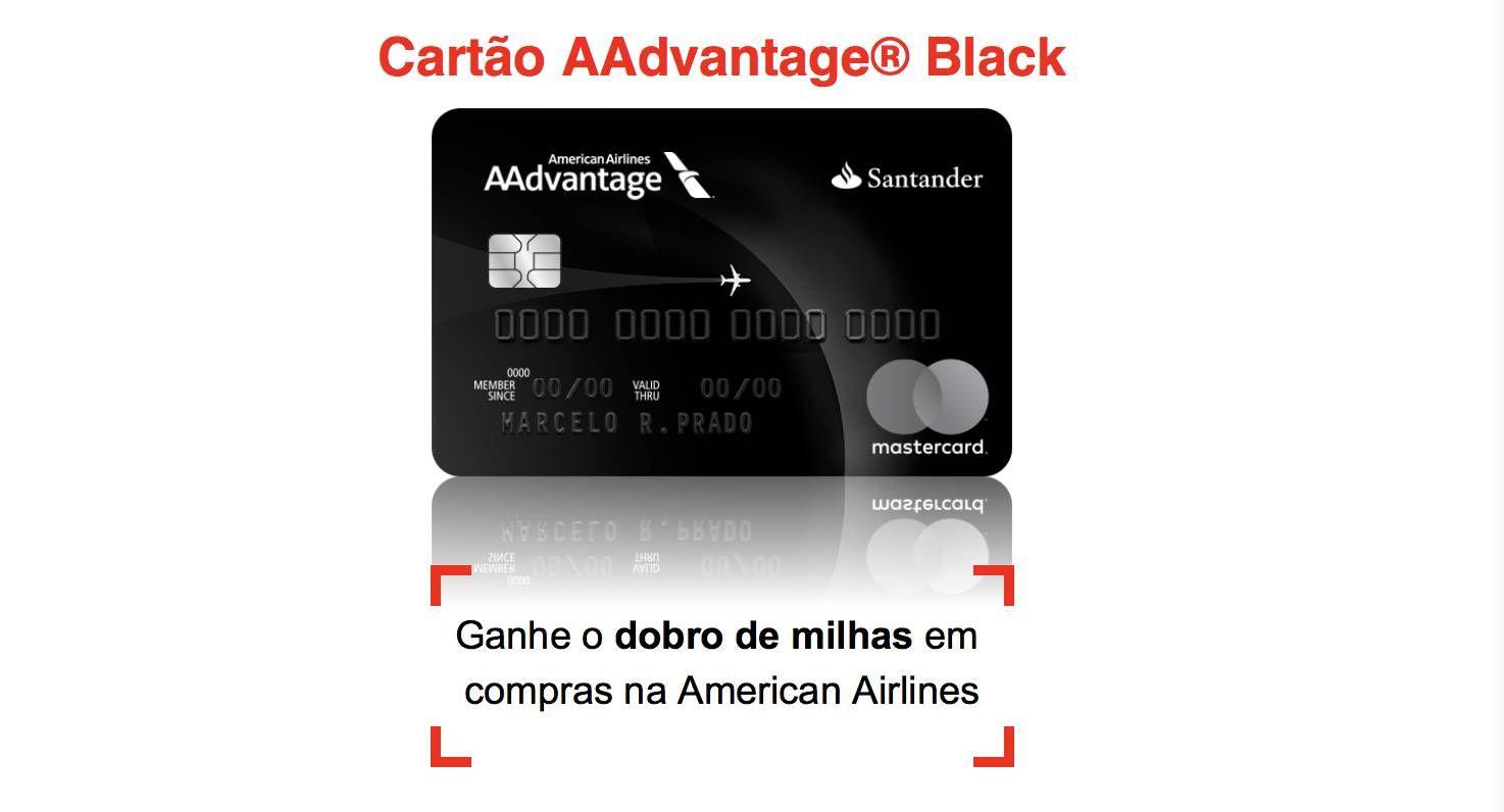 Porque vou passar a usar o cartão Santander AAdvantage Black a partir de hoje