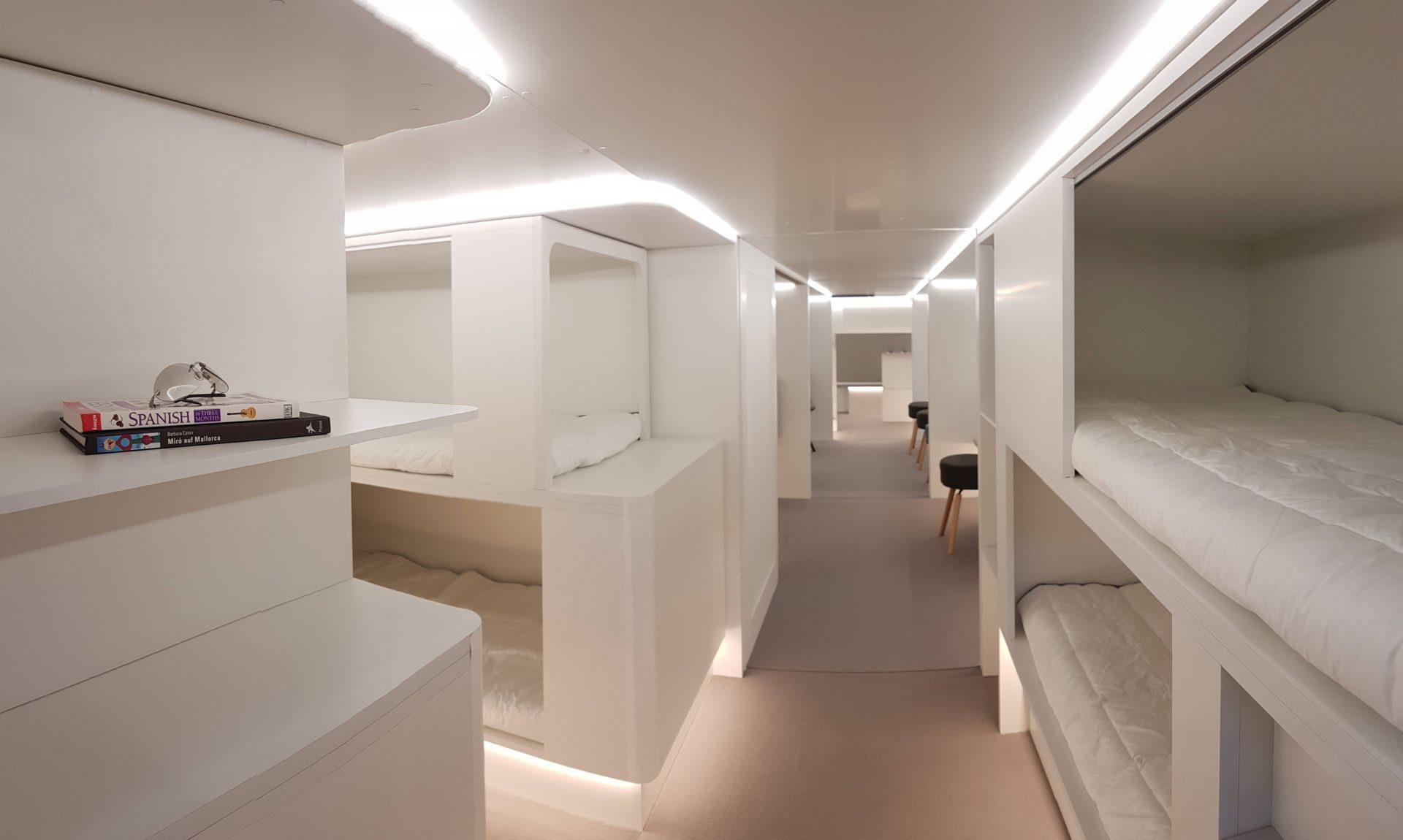 Airbus transportará passageiros no compartimento de carga