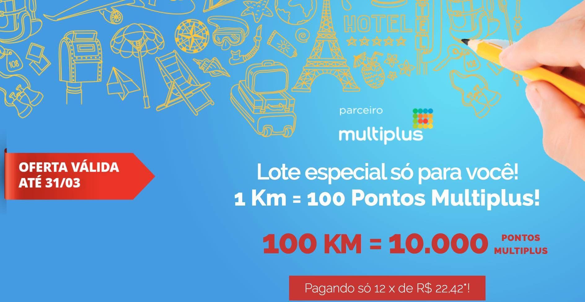 Lote promocional do KM de Vantagens para a Multiplus continua ativo!