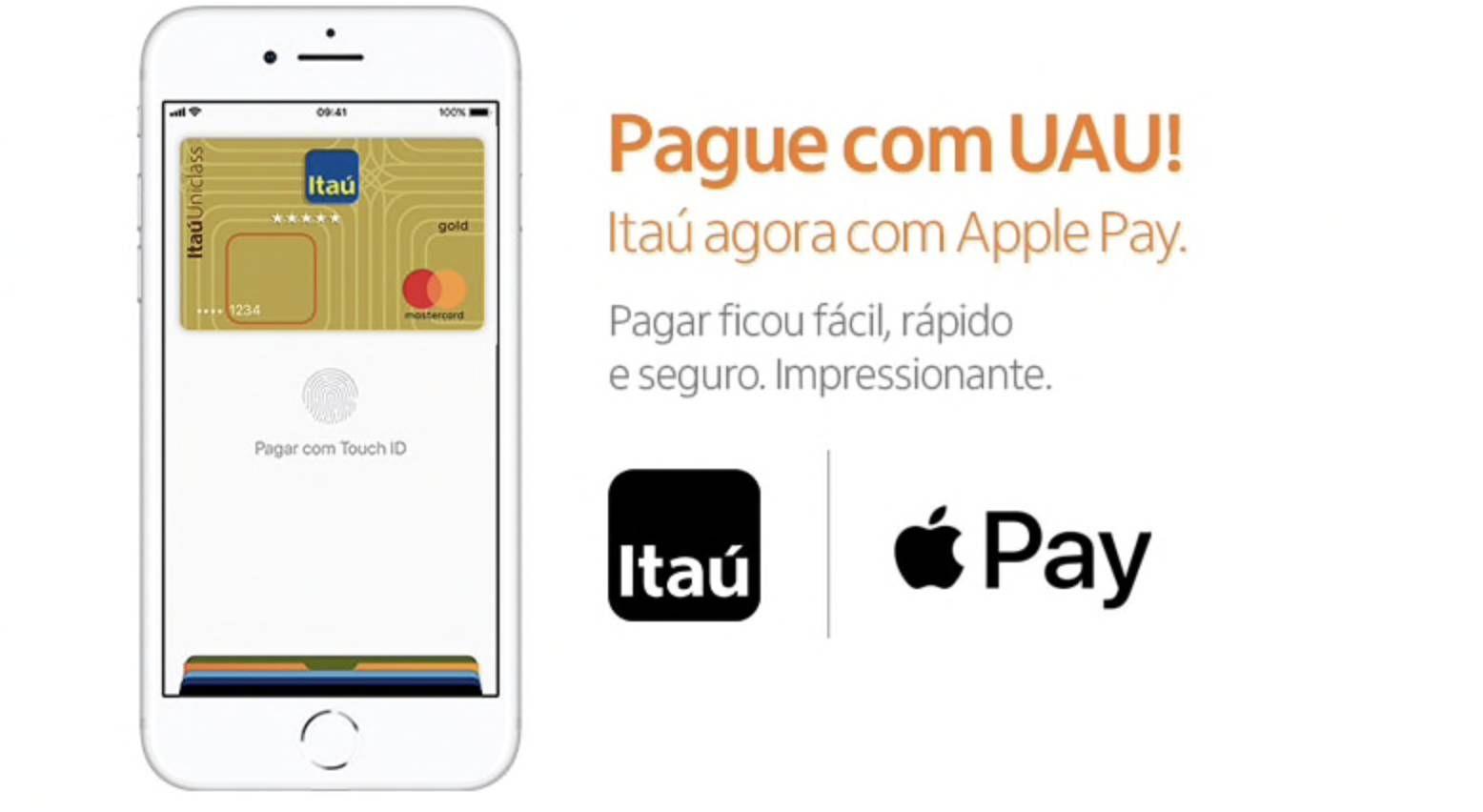 Cartões de crédito do Itaú agora são compatíveis com o Apple Pay