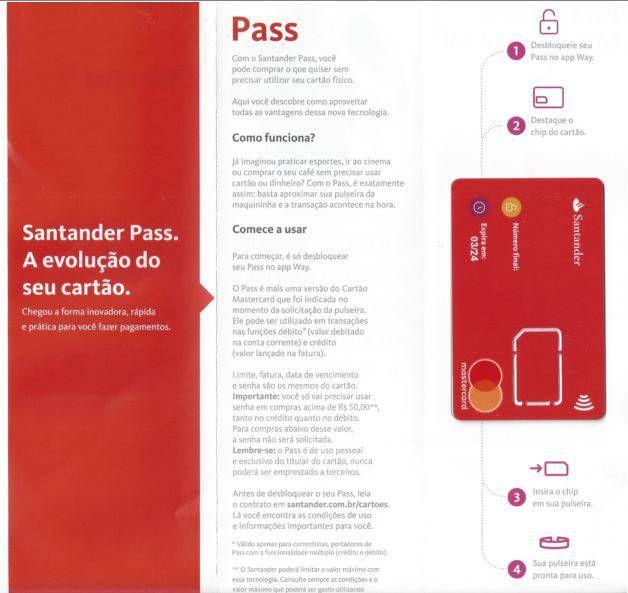Artesanato Indigena Comprar ~ Conheça o Santander Pass, a pulseira e adesivo que