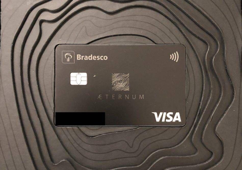 Conheça o kit de boas vindas do Visa Aeternum do Bradesco