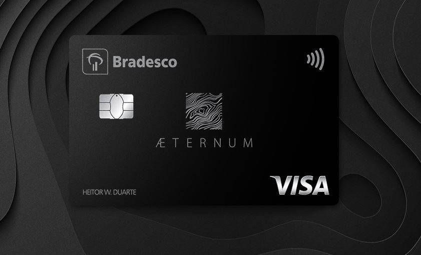 Confira todos os benefícios do cartão Bradesco Aeternum