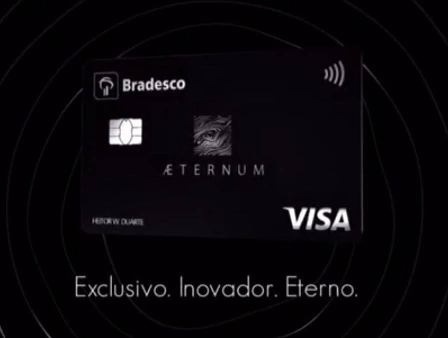 Conheça o novo Cartão do Bradesco: O Aeternum!
