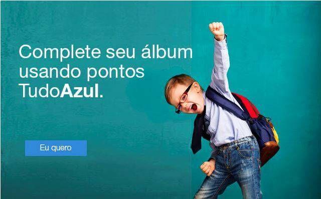 Troque seus pontos TudoAzul pelo álbum e figurinhas da Copa!