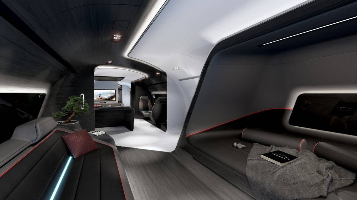 Conheça a cabine VIP desenvolvida pela Lufthansa em parceria com a Mercedes-Benz