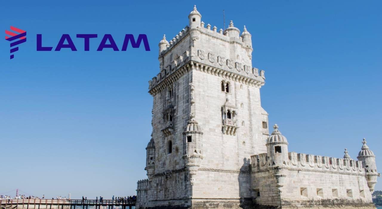 Voos da LATAM para Lisboa já estão disponíveis para venda!