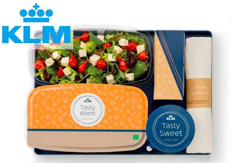 KLM lança novo serviço de bordo na Classe Econômica