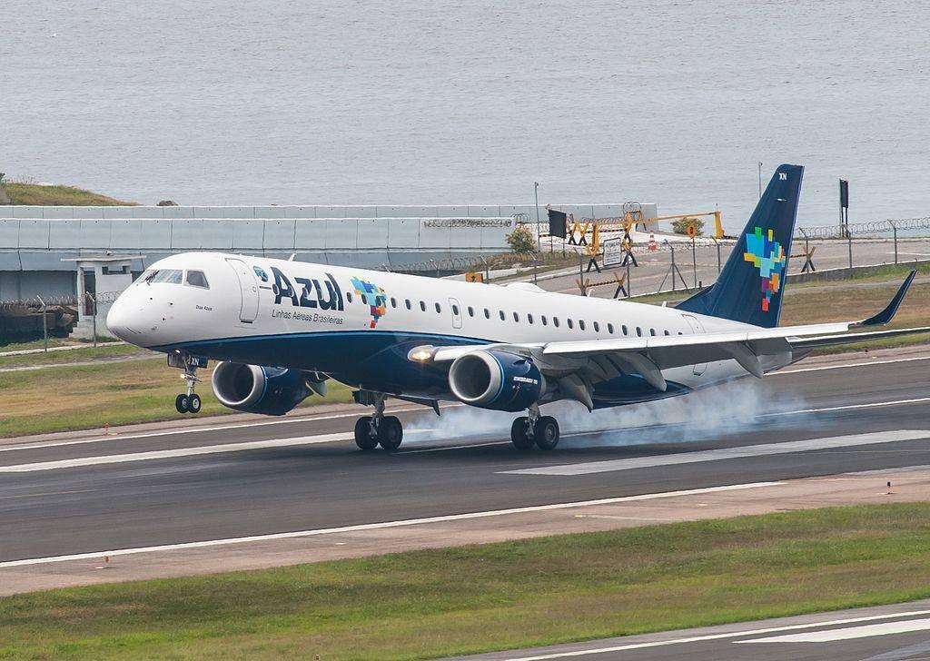 Azul anuncia venda de seis E195 que serão subtituidos pelo A320neo
