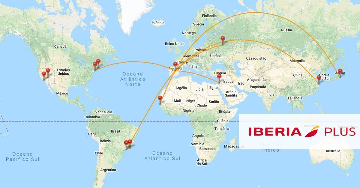 5 opções de resgates usando Iberia Plus!