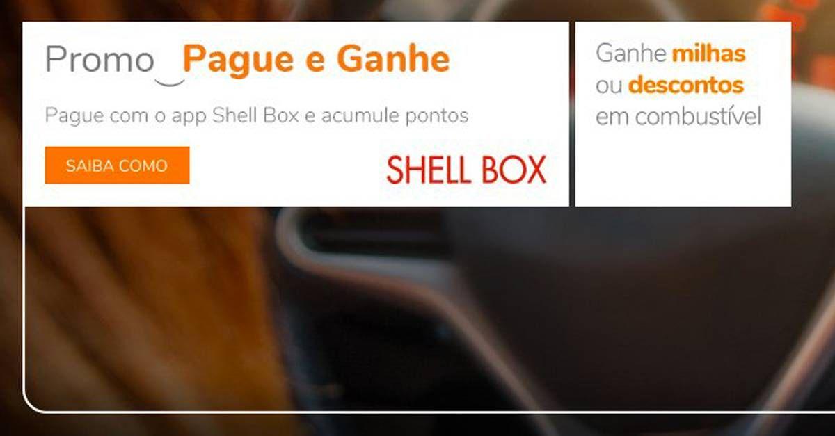 Ganhe milhas Smiles ao abastecer com o app Shell Box!