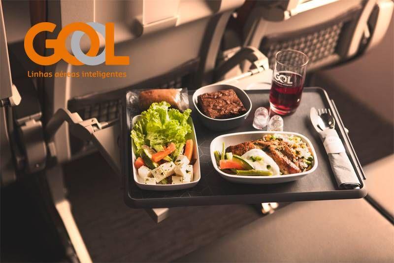 GOL irá regionalizar pratos no serviço de bordo internacional