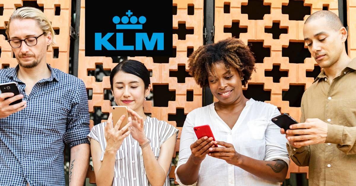 Novo serviço da KLM permite compra de passagens por meio de reconhecimento de voz