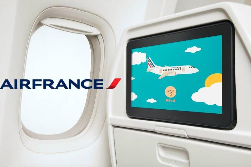 Air France renova experiência de voo para crianças!