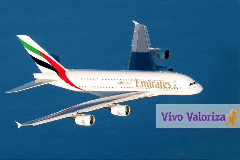 Clientes Vivo Valoriza têm 10% de desconto em passagens Emirates para Buenos Aires e Santiago
