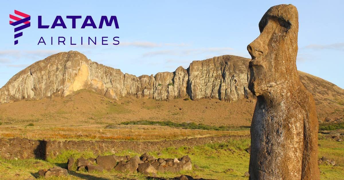 LATAM informa sobre novas exigências do Governo do Chile para viajar para a Ilha de Páscoa