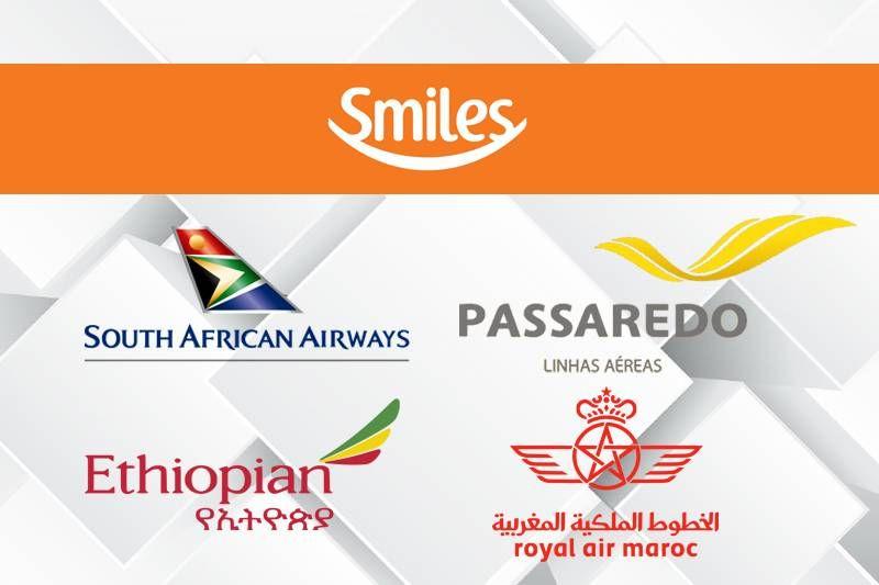 Smiles fecha parceria com quatro novas companhias aéreas!
