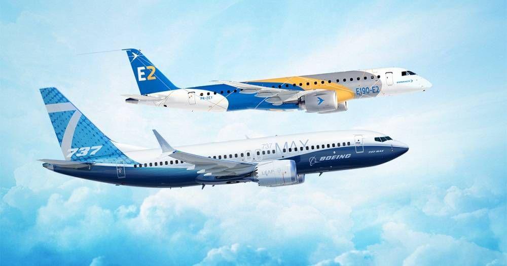 Boeing e Embraer assinam acordo para estabelecer uma parceria estratégica