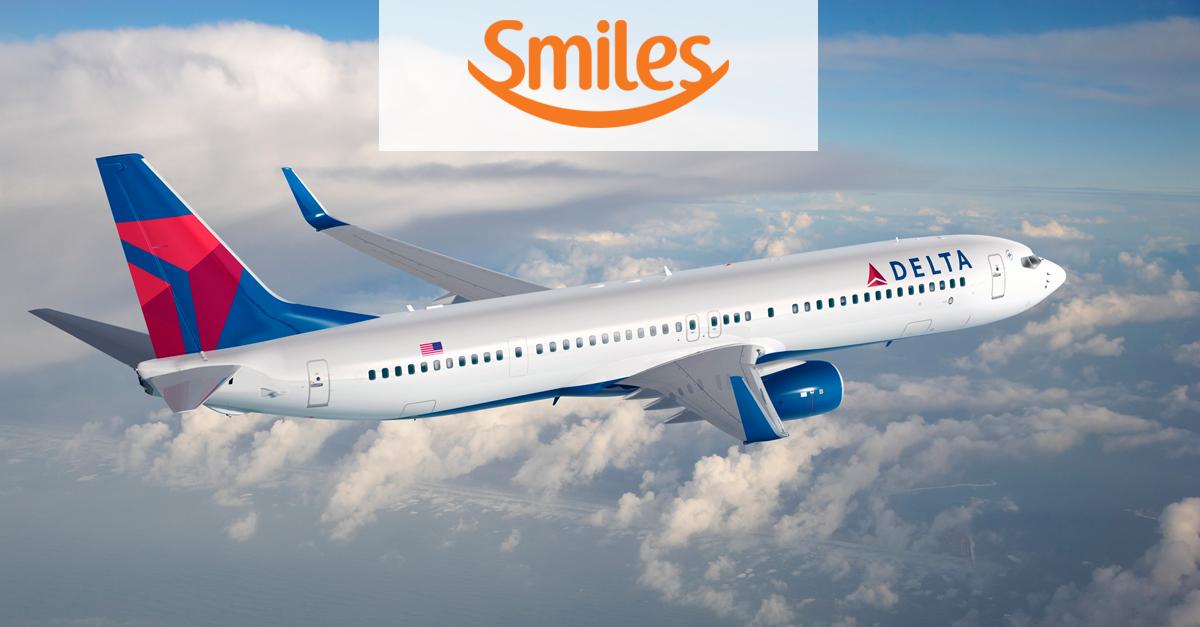 Smiles aumenta o custo de emissão nas passagens DELTA