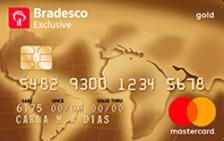 Bradesco Exclusive Mastercard® Gold