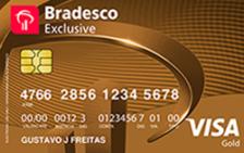 Bradesco Exclusive Visa Gold – Função Crédito