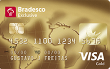 Bradesco Exclusive Visa Gold
