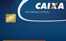 Caixa Cartão Internacional Visa