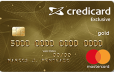 Credicard Exclusive Gold Mastercard