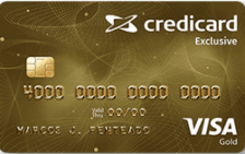 Credicard Exclusive Gold Visa