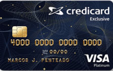 Credicard Exclusive Platinum Visa