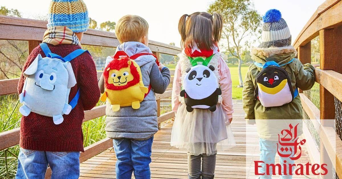 PP KIDS: Emirates lança nova linha de brinquedos de bordo!