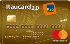 Itaucard 2.0 Gold Sempre Presente MasterCard