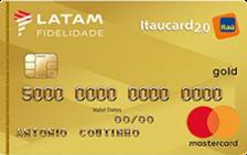 LATAM Itaucard 2.0 Gold Mastercard