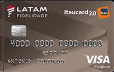 LATAM Itaucard 2.0 Platinum Visa