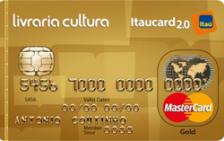 Livraria Cultura Itaucard 2.0 Gold MasterCard
