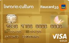 Livraria Cultura Itaucard 2.0 Gold Visa