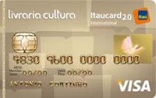 Livraria Cultura Itaucard 2.0 Internacional Visa
