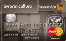 Livraria Cultura Itaucard 2.0 Platinum MasterCard